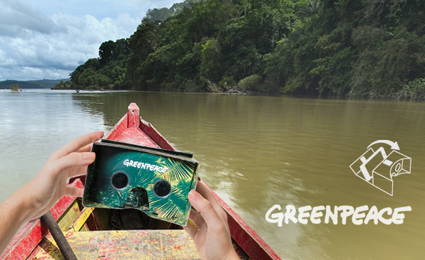 Greenpeace: VR-wielding Safeguards of the Earth